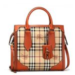 Burberry(バーバリー) トートバッグ HTC SM HONEYWOOD 8230T TANGERINE - ARANCIO