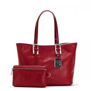Longchamp(ロンシャン) トートバッグ LM CUIR 1524 545 ROUGE - 拡大画像