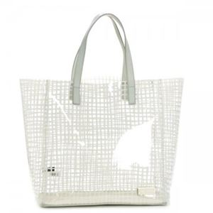 MARC BY MARC JACOBS(マークバイマークジェイコブス) トートバッグ CHECKMATE M3131043 81302 WHITE BIRCH - 拡大画像