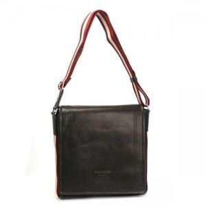 Bally(バリー) ナナメガケバッグ TRAINSPOTTING TRIAR-SM 261 CHOCOLATE RED/WHITE - 拡大画像