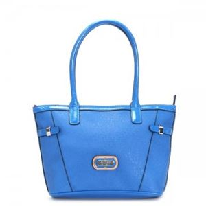 Guess(ゲス) トートバッグ GLASGOW VY408422 BLUE - 拡大画像