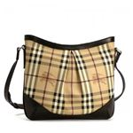 Burberry(バーバリー) ナナメガケバッグ HYM HARTHAM HYM 2070T CHOCOLATE