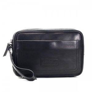 Bally(バリー) セカンドバッグ TRAINSPOTTING TLETTO-SM 280 BLACK BLACK/BEIGE - 拡大画像