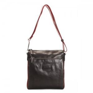 Bally(バリー) ナナメガケバッグ TRAINSPOTTING TUSTON-SM 261 CHOCOLATE RED/BEIGE - 拡大画像
