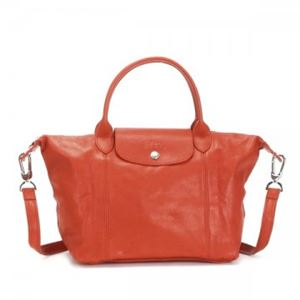 Longchamp(ロンシャン) ナナメガケバッグ LE PLIAGE CUIR 1512 461 PAPRIKA - 拡大画像