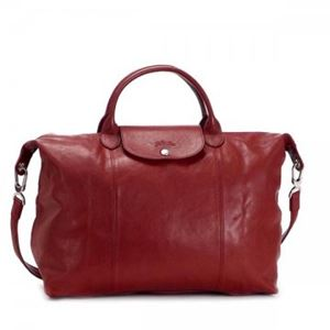 Longchamp(ロンシャン) ナナメガケバッグ LE PLIAGE CUIR 1630 545 ROUGE - 拡大画像