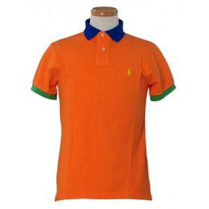 RalphLauren(ラルフローレン) メンズポロシャツ K27SM03 73573 RESORT ORANGE MULTI