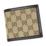 Gucci(グッチ) 二つ折り財布(小銭入れ付) 237359 9643 BROWN