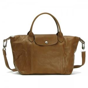 Longchamp(ロンシャン) ナナメガケバッグ LE PLIAGE CUIR 1512 226 CAMEL - 拡大画像