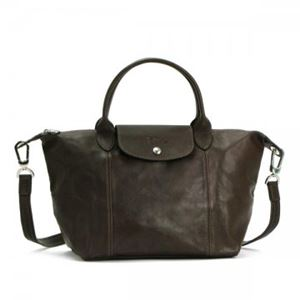Longchamp(ロンシャン) ナナメガケバッグ LE PLIAGE CUIR 1512 15 TAUPE - 拡大画像