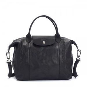 Longchamp(ロンシャン) ナナメガケバッグ LE PLIAGE CUIR 1515 1 NERO - 拡大画像