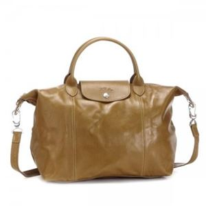 Longchamp(ロンシャン) ナナメガケバッグ LE PLIAGE CUIR 1515 226 CAMEL - 拡大画像