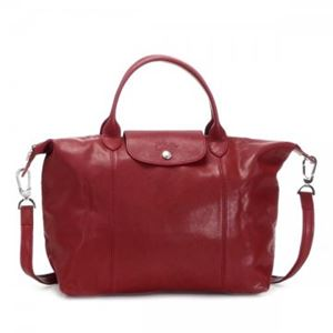 Longchamp(ロンシャン) ナナメガケバッグ LE PLIAGE CUIR 1515 545 ROUGE - 拡大画像