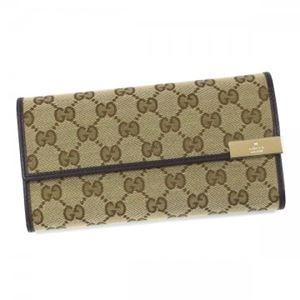 Gucci(グッチ) 長財布 291099 9643 BEIGE EBONY/COCOA - 拡大画像