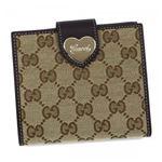 Gucci(グッチ) Wホック財布 203549 9643 BEIGE EBONY/COCOA