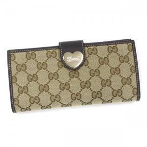Gucci(グッチ) 長財布 203550 9643 BEIGE EBONY/COCOA - 拡大画像