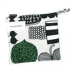 marimekko�ʥޥ��å��� �ݥåȥۥ���� 63370 960 LIGHT GREY��BLACK��GREEN