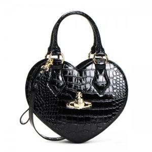 Vivienne Westwood(ヴィヴィアンウエストウッド) ハンドバッグ 6320 BLACK - 拡大画像