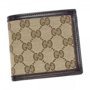 Gucci(グッチ) 二つ折り財布(小銭入れ付) 237359 9643 BROWN - 拡大画像