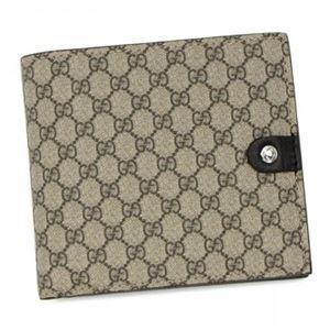 Gucci(グッチ) 二つ折り財布(小銭入れ付) 282023 BEIGE FX53N - 拡大画像