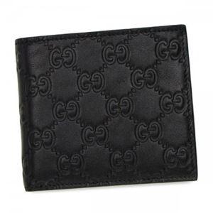 Gucci(グッチ) 二つ折り財布(小銭入れ付) 146223 NERO A0V1R - 拡大画像