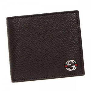 Gucci(グッチ) 二つ折り財布(小銭入れ付) 308795 TESTA DI MORO A7MMN - 拡大画像