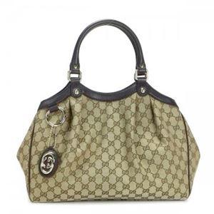 Gucci(グッチ) ショルダーバッグ 211944 9643 BEIGE EBONY/COCOA - 拡大画像