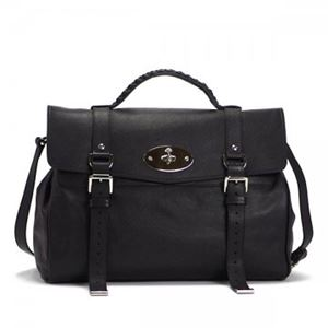 Mulberry(マルベリー) ハンドバッグ HH7541 A237 BLACK-SILVER