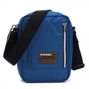 DIESEL(ディーゼル) ナナメガケバッグ X02139 T6043 NAUTICAL BLUE - 拡大画像