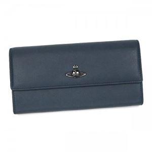 Vivienne Westwood(ヴィヴィアンウエストウッド) 長財布 32601 BLUE NAVY画像