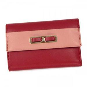 Ferragamo(フェラガモ) 三つ折り財布(小銭入れ付) 22C126 587843 ROSSO/BLUSH