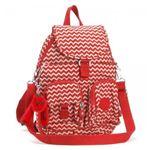 Kipling(キプリング) バックパック K13108 A90 CHEVRON RED PR