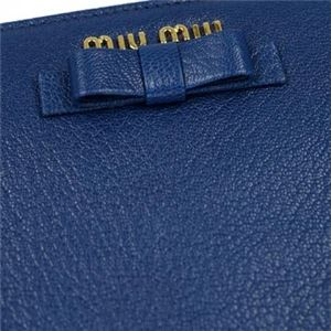 MIUMIU(ミュウミュウ) 長財布 5M1183 F0C6S COBALTO+NERO f04