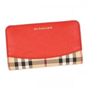 Burberry(バーバリー) 長財布 長財布  LS COWLEY HBC 60940 CORAL RED