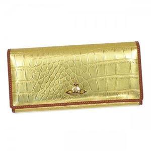 Vivienne Westwood(ヴィヴィアンウエストウッド) 長財布 長財布  2800V  GOLD