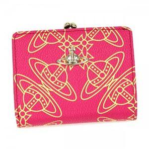 Vivienne Westwood(ヴィヴィアンウエストウッド) 二つ折り財布(小銭入れ付)  32332  PINK