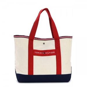 TOMMY HILFIGER(トミーヒルフィガー) トートバッグ 6923661 467 NATURAL/RED