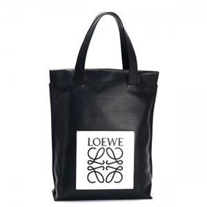 【9月15日まで限定販売】Loewe(ロエベ) トートバッグ 330.54EK01 1102 BLACK/WHITE - 拡大画像