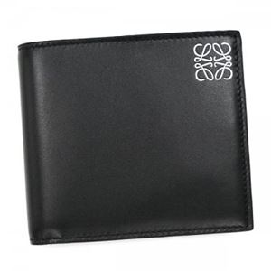 Loewe(ロエベ) 二つ折り財布(小銭入れ付) 109.54.501 1100 BLACK h01