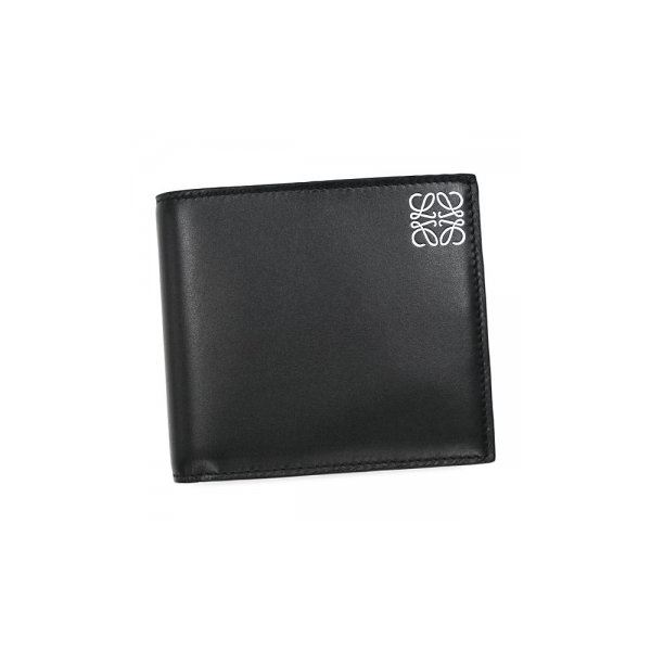 Loewe(ロエベ) 二つ折り財布(小銭入れ付) 109.54.501 1100 BLACKf00