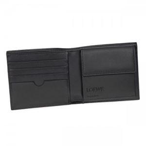 Loewe(ロエベ) 二つ折り財布(小銭入れ付) 109.54.501 1100 BLACK h03