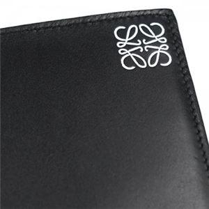 Loewe(ロエベ) 二つ折り財布(小銭入れ付) 109.54.501 1100 BLACK f04