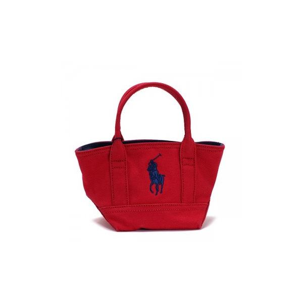 RalphLauren(ラルフローレン) トートバッグ 959004 RED CANVAS - NAVYf00