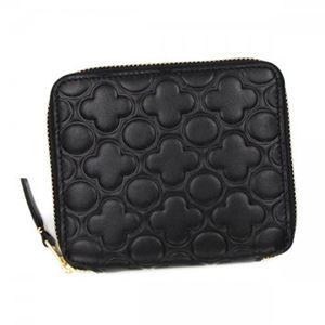COMME des GARCONS(コムデギャルソン) 二つ折り財布(小銭入れ付) SA210EB BLACK h01