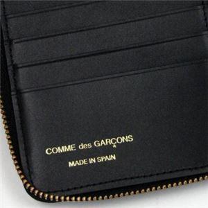 COMME des GARCONS(コムデギャルソン) 二つ折り財布(小銭入れ付) SA210EB BLACK f05