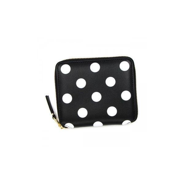 COMME des GARCONS(コムデギャルソン) 二つ折り財布(小銭入れ付) SA2100PD BLACKf00