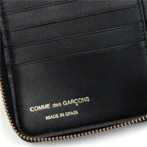 COMME des GARCONS(コムデギャルソン) 二つ折り財布(小銭入れ付) SA2100PD BLACK f05