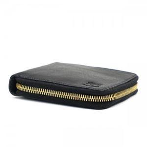 IL BISONTE(イルビゾンテ) 二つ折りカード C0935 153 BLACK h02