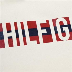 TOMMY HILFIGER(トミーヒルフィガー) トートバッグ 6929740 467 NATURAL/NAVY/RED f04