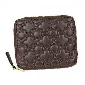COMME des GARCONS(コムデギャルソン) 二つ折り財布(小銭入れ付) SA210E B BROWN h01